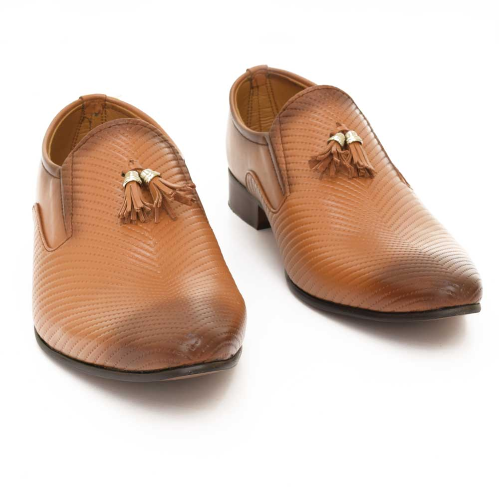 Starlet Men's Executive RS-09 Formal Shoes Men's Shoes Starlet Shoes Tan EUR 39