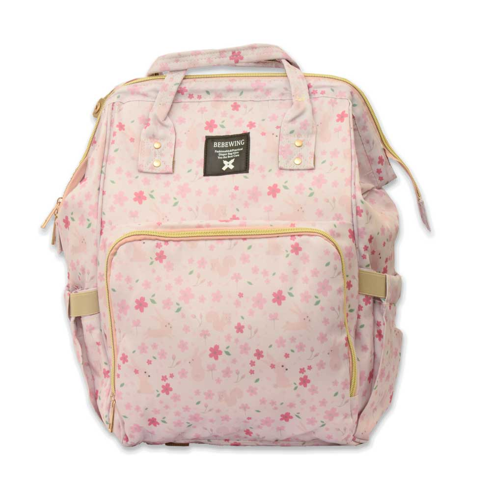 Bebewing Printed Baby Diaper Backpack Bag Women's Accessories Sunshine China Floral Print