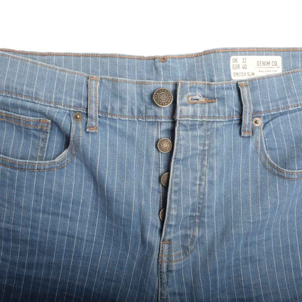 DNM & Co Men's Manioc Cut Off Denim Shorts Men's Shorts SRK Blue 24 18