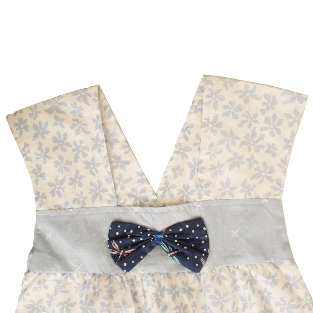 Safina Kid's Priscilla Bow Tie Frock Girl's Frock Bohotique