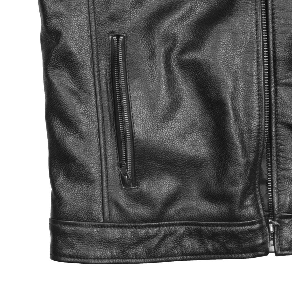 Men's Haines 002 Genuine Leather Jacket Men's Jacket SFS