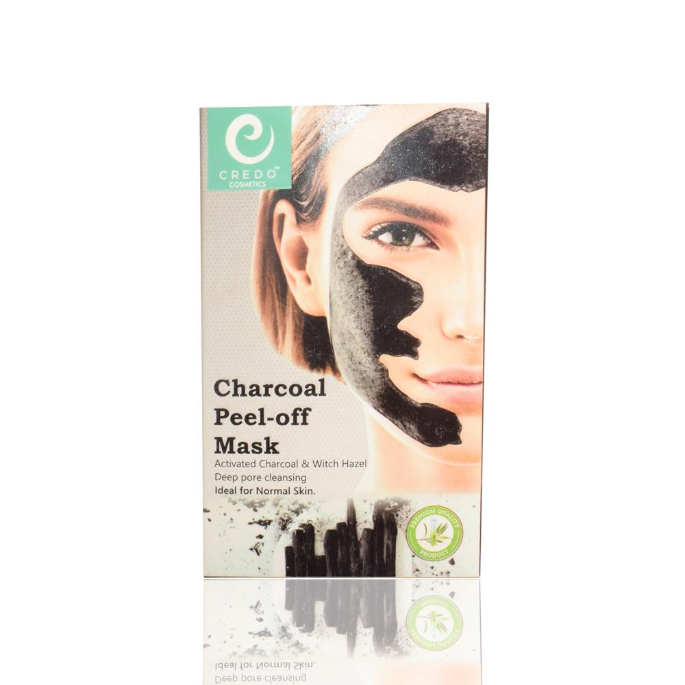 Credo Charcoal Peel-off Face Mask Health & Beauty Credo Cosmetics