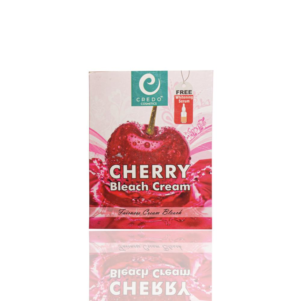Credo Cherry Bleach Cream With Free Whitening Serum Health & Beauty Credo Cosmetics