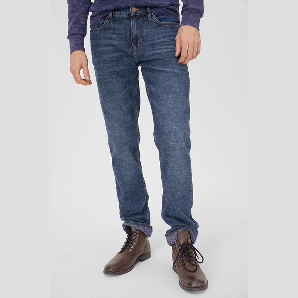 C&A The Classic Relaxed Fit Denim Men's Denim SRK Dark Blue 30 30