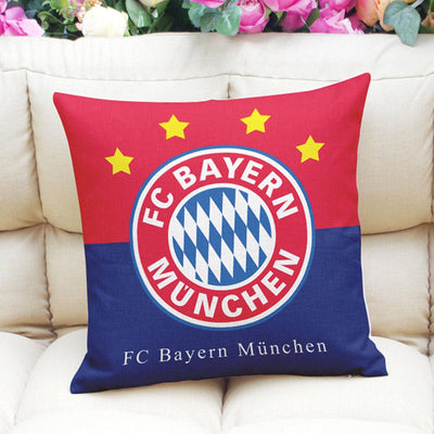 Football Club Composite Linen Cushion Cover Cushion Cover Sunshine China FC Bayern