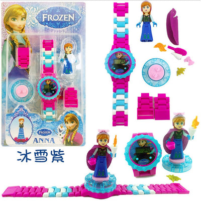 Anime Fiugres Blocks Digital Watch Stationary & General Accessories Sunshine China Frozen Anna