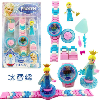 Anime Fiugres Blocks Digital Watch Stationary & General Accessories Sunshine China Frozen Elsa