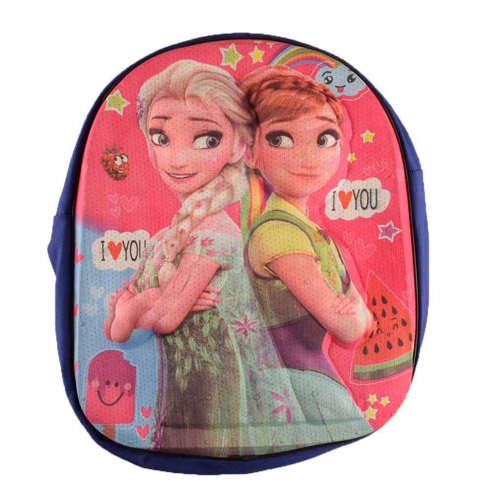 ANF Kid's Comic Sturdy School Backpack School Bag ANF Frozen Sisters