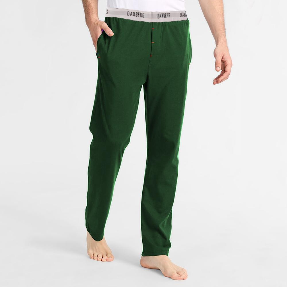 Polo Republica Men's 19-31A20 Pique Casual Lounge Pants Men's Sleep Wear Polo Republica Daxberg Green S