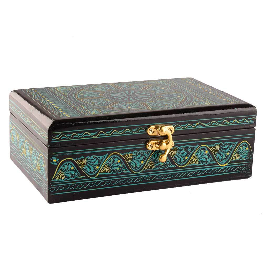 Samobor Designs One Piece Jewelry Box Jewellery SAK Green
