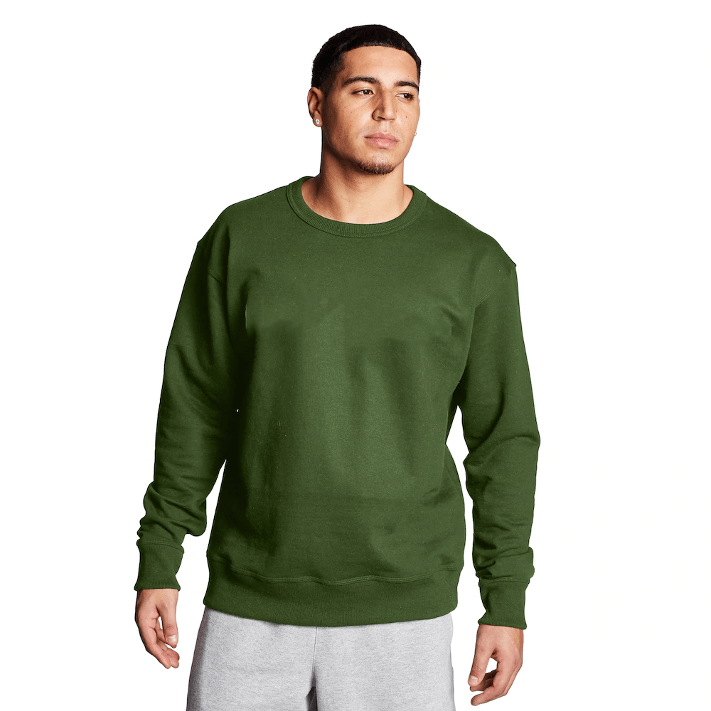 FR Cut Label Men's Placid Fleece Sweat Shirt Men's Sweat Shirt Fiza Green S