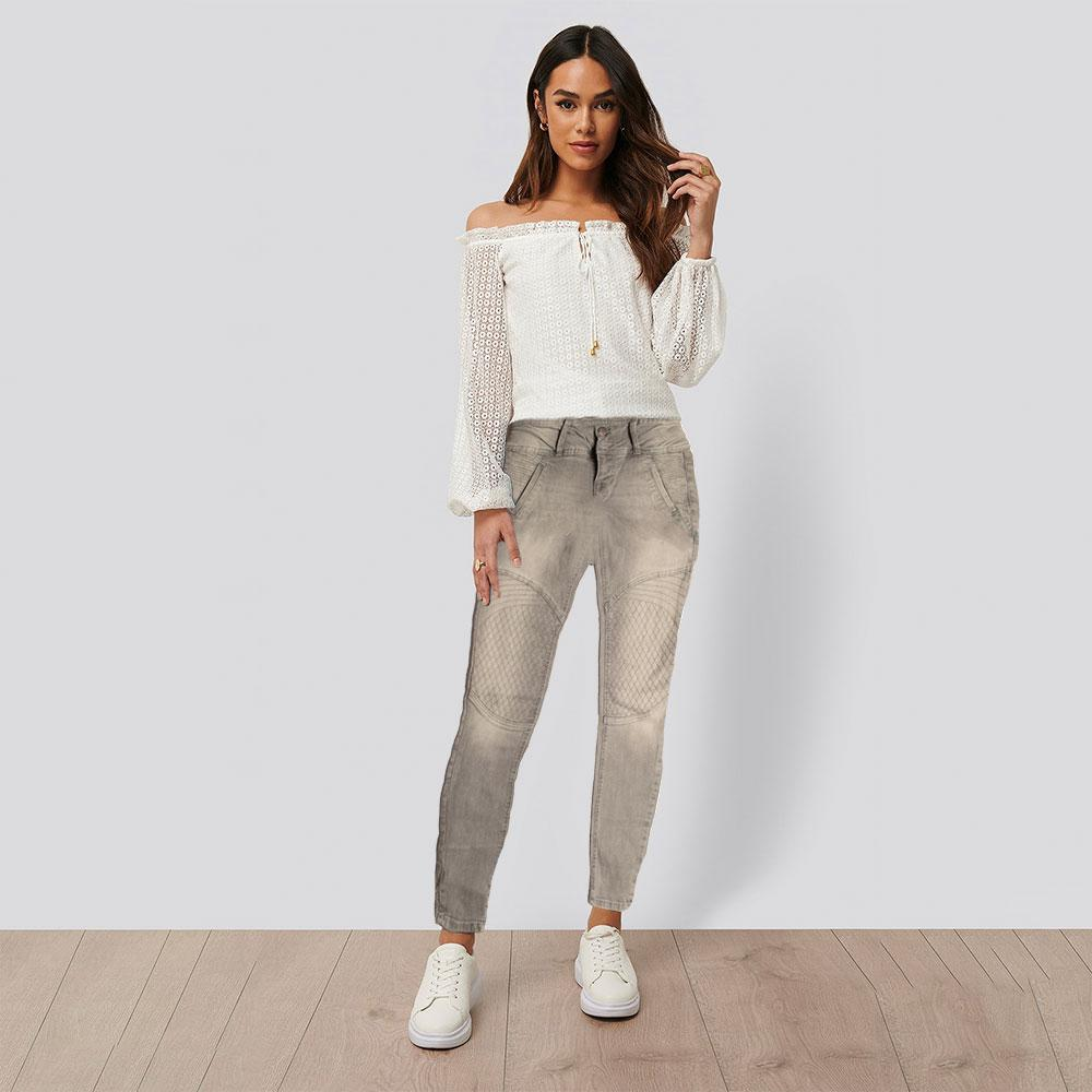 JDC Women's Rahway Slim Fit Denim Women's Denim SRK Grey 24 26
