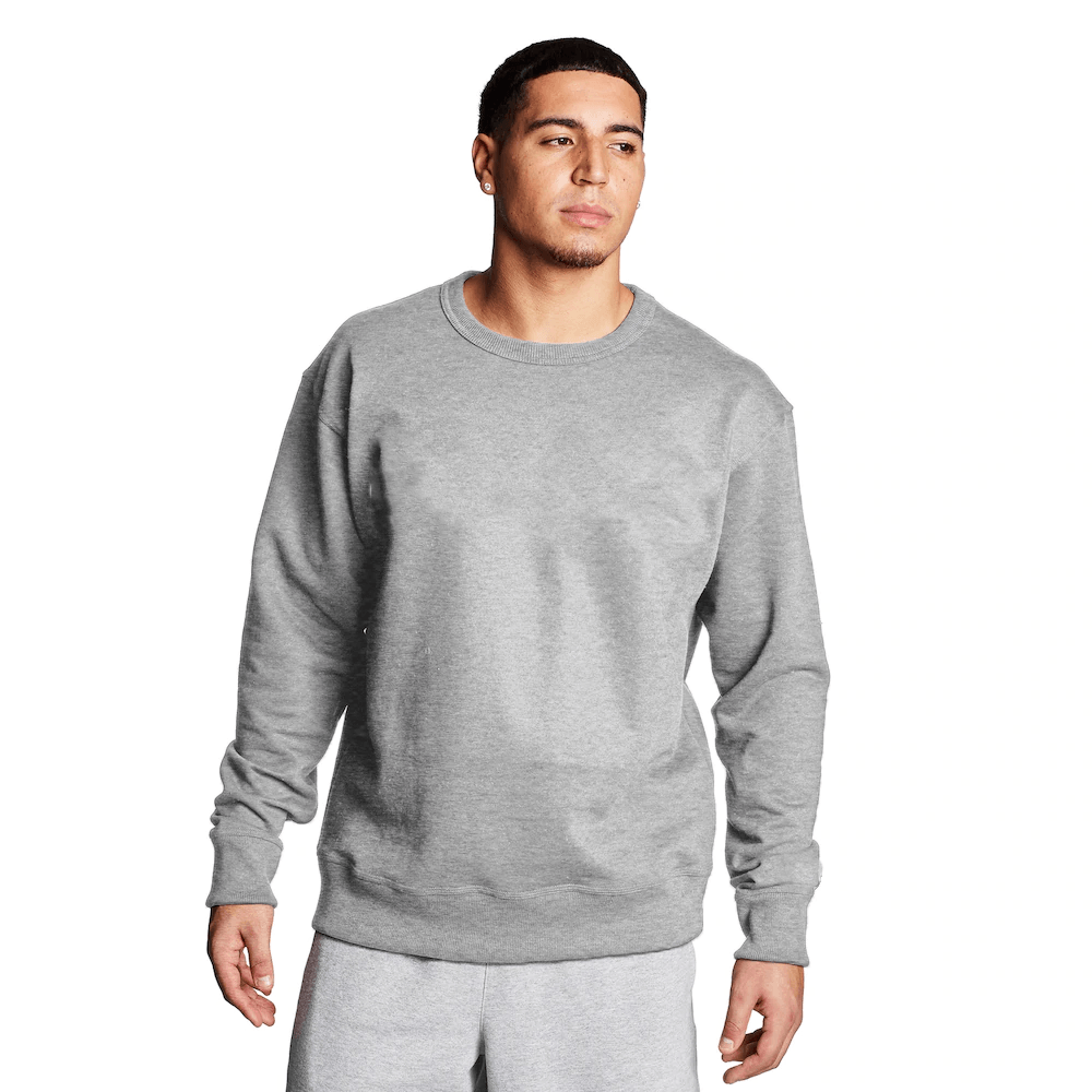 FR Cut Label Men's Placid Fleece Sweat Shirt Men's Sweat Shirt Fiza Heather Grey S