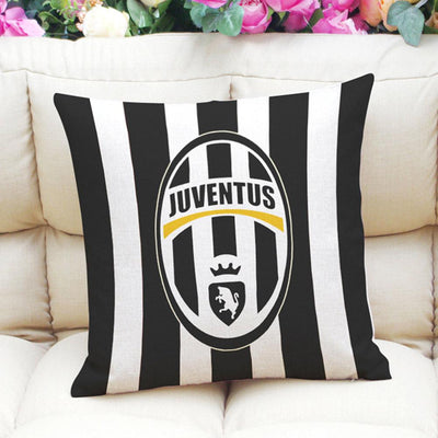 Football Club Composite Linen Cushion Cover Cushion Cover Sunshine China Juventus