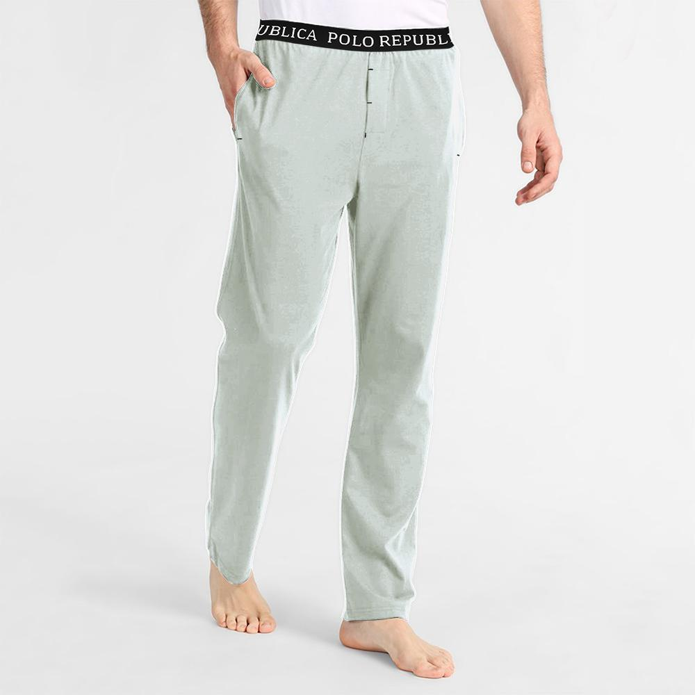 Polo Republica Men's Vodice Casual Pique Trouser Men's Trousers Export Leftovers Light Grey S