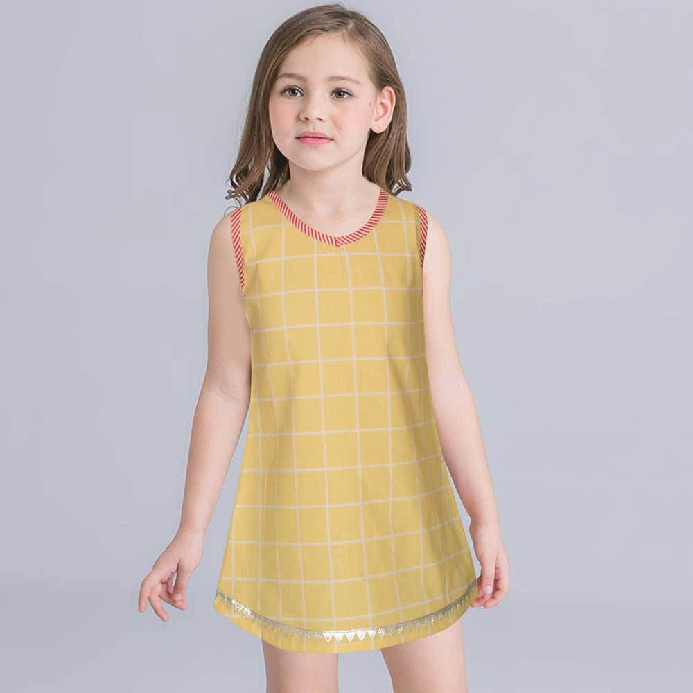 Safina Kid's Ixelles Sleeveless Frock Girl's Frock Bohotique 2-3 Years