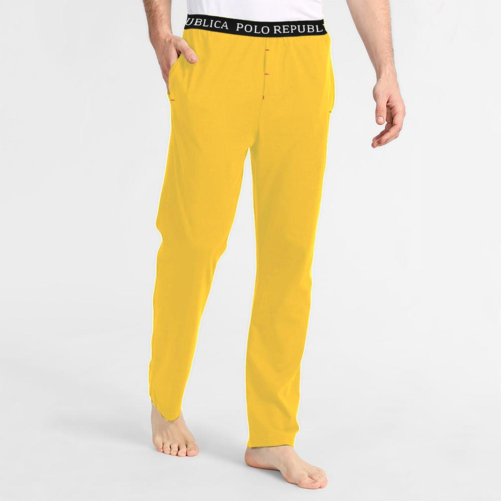 Polo Republica Men's Vodice Casual Pique Trouser Men's Trousers Polo Republica Sunny Yellow S