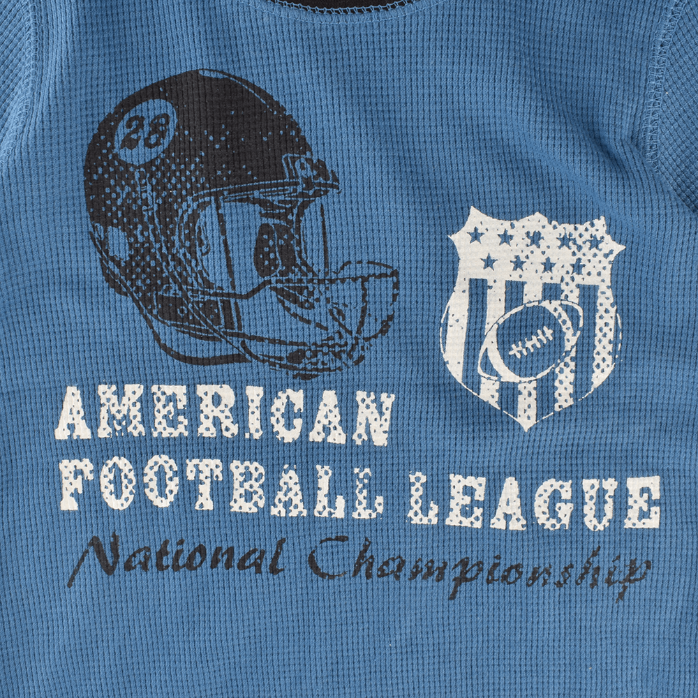 OT Kid's American Football League Thermal Sweat Shirt Boy's Sweat Shirt First Choice