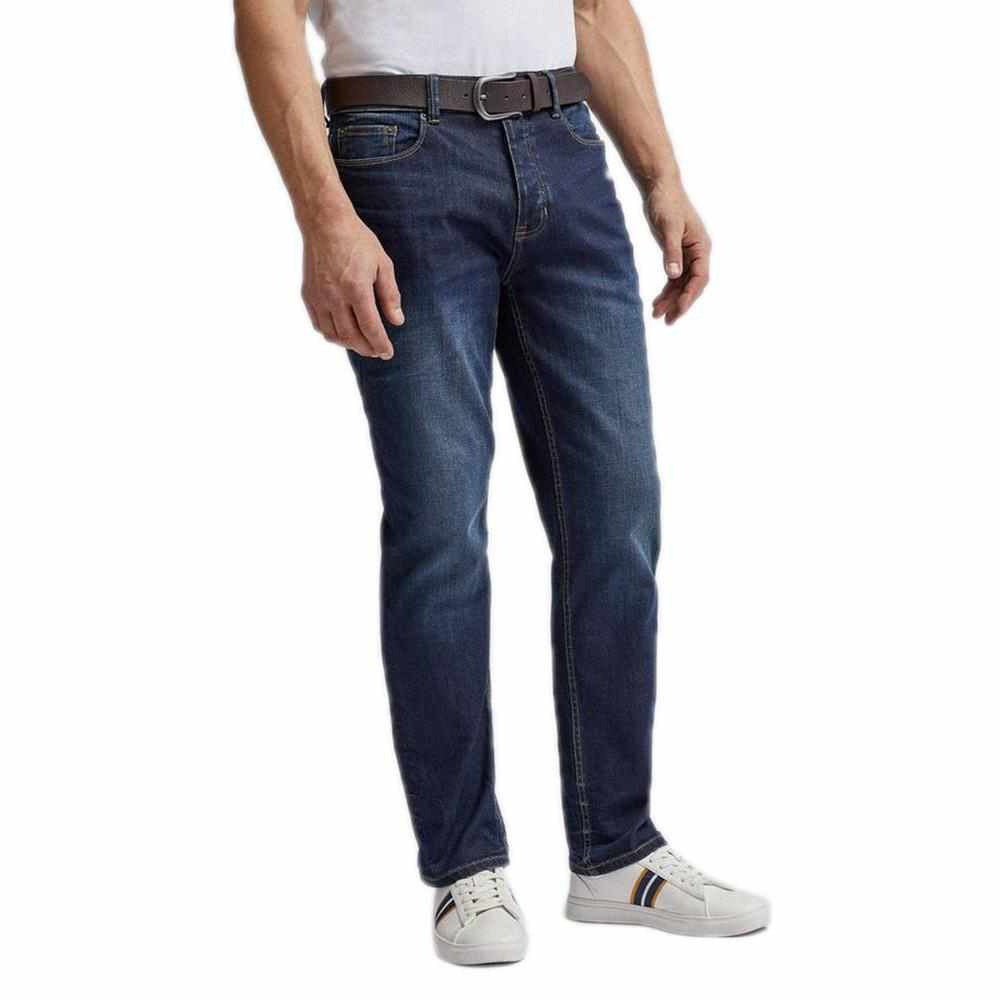BML Men's 12-25A20 Straight Fit Denim Men's Denim IBM 30 30