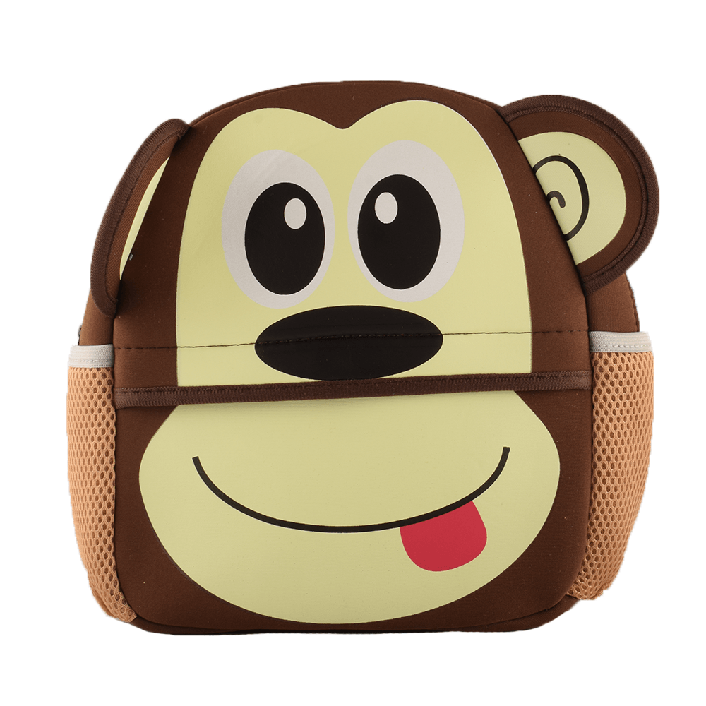 Kid's Animal Design Sturdy School Bags School Bag Sunshine China Monkey
