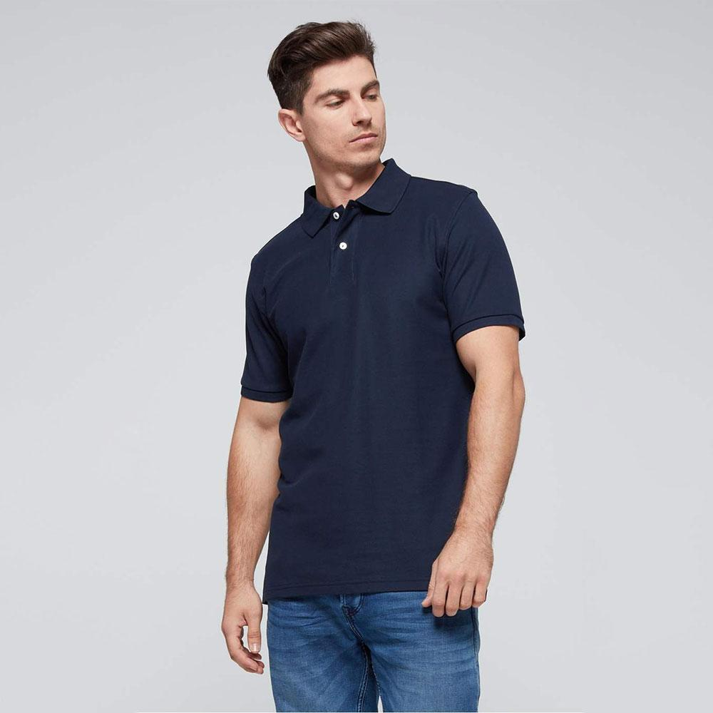 Men's Classic Barracuda Polo Shirt Men's Polo Shirt Fiza Navy S