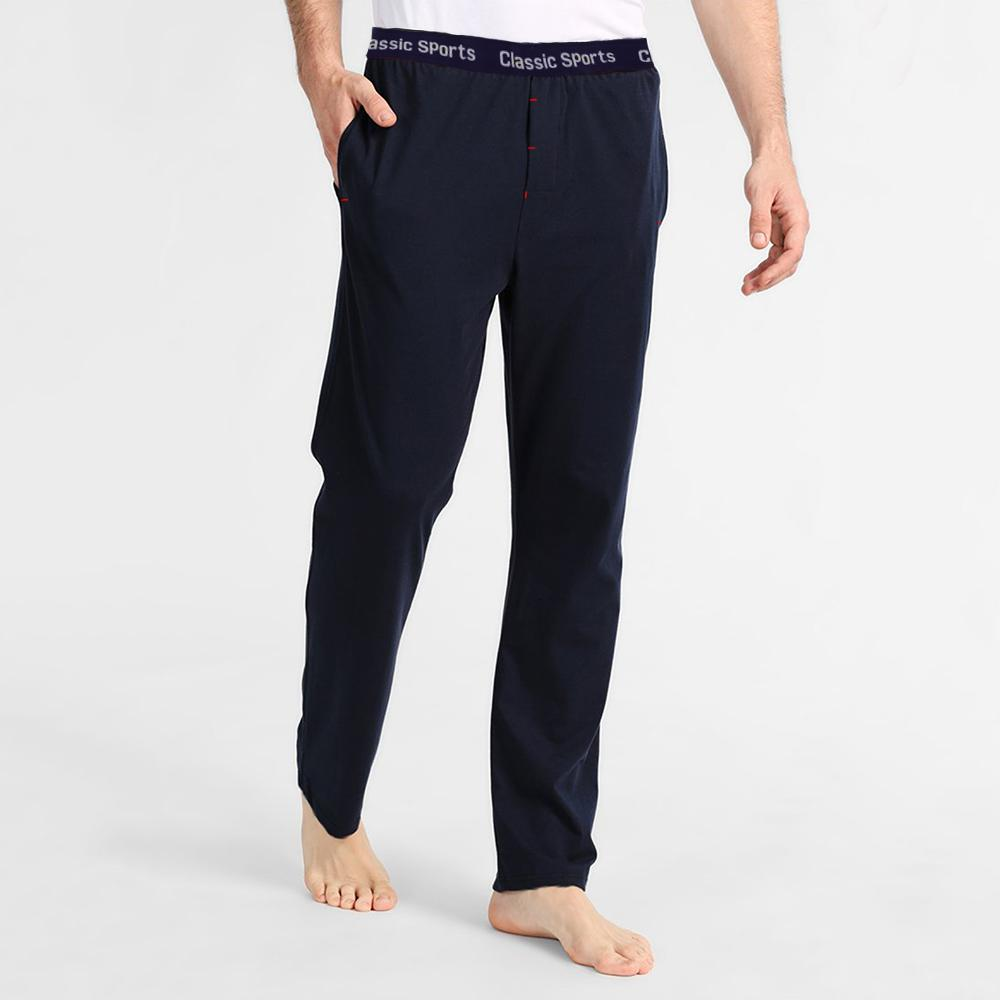 Polo Republica Men's 19-31A20 Pique Casual Lounge Pants Men's Sleep Wear Polo Republica Classic Sports Navy S