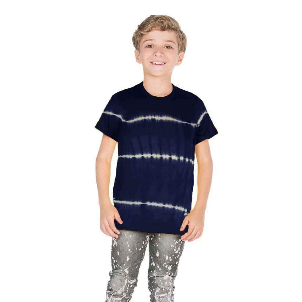 Falls Creek Boy's 1-14B20 Crew Neck Tee Shirt Boy's Tee Shirt SNC Navy M(8)