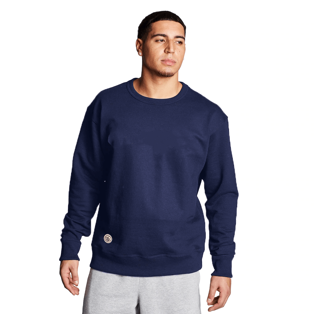 FR Cut Label Men's Placid Fleece Sweat Shirt Men's Sweat Shirt Fiza Navy S