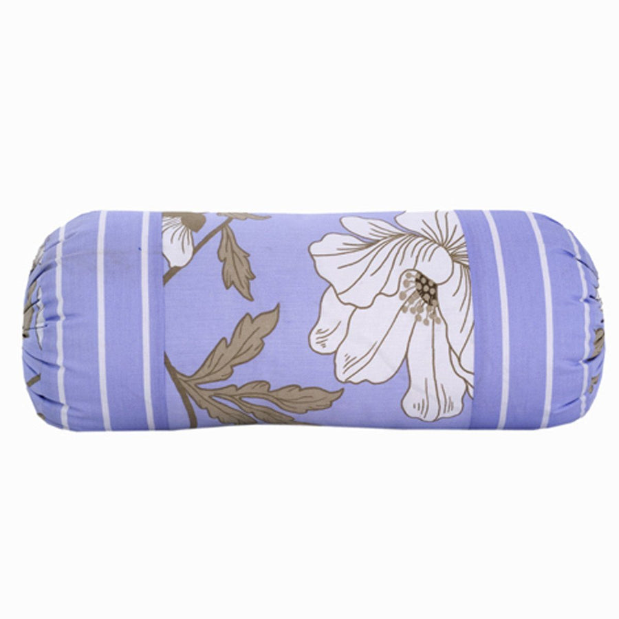 KHAS Pieridae Pack of 2 Mangnolia Neck Roll Cover - ExportLeftovers.com