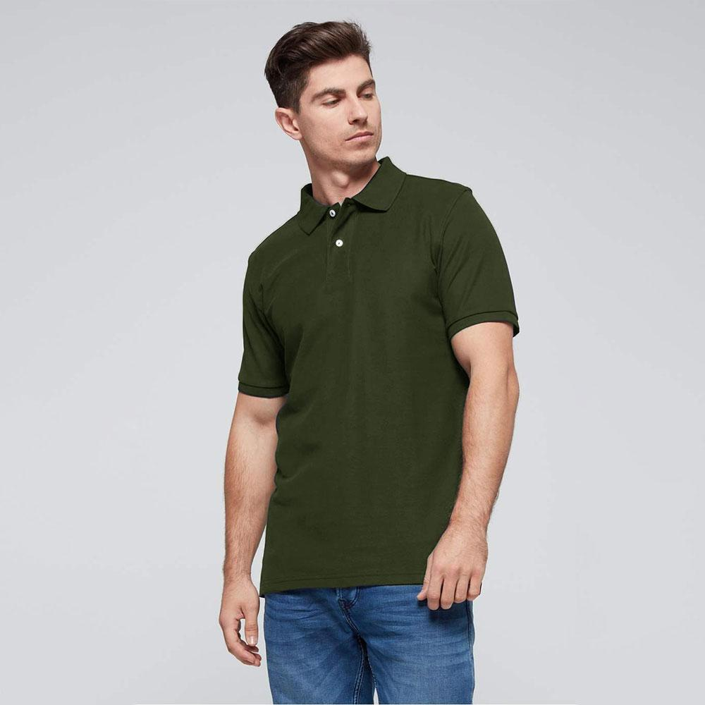 Men's Classic Barracuda Polo Shirt Men's Polo Shirt Fiza Olive S