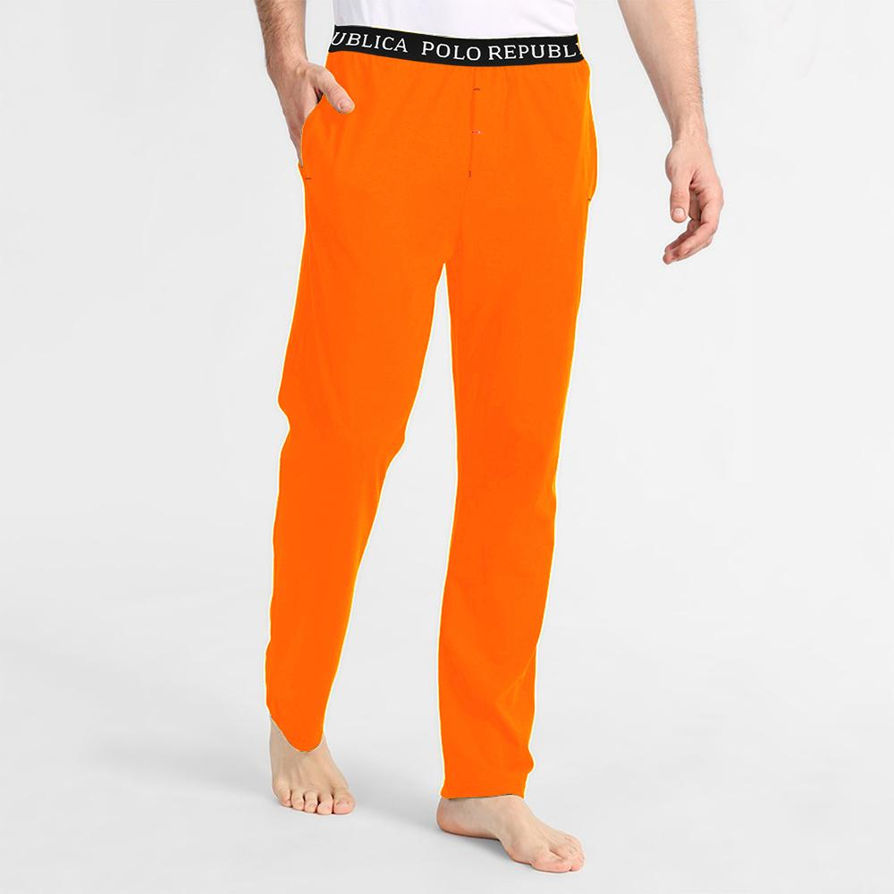 Polo Republica Men's Vodice Casual Pique Trouser Men's Trousers Polo Republica Light Orange S