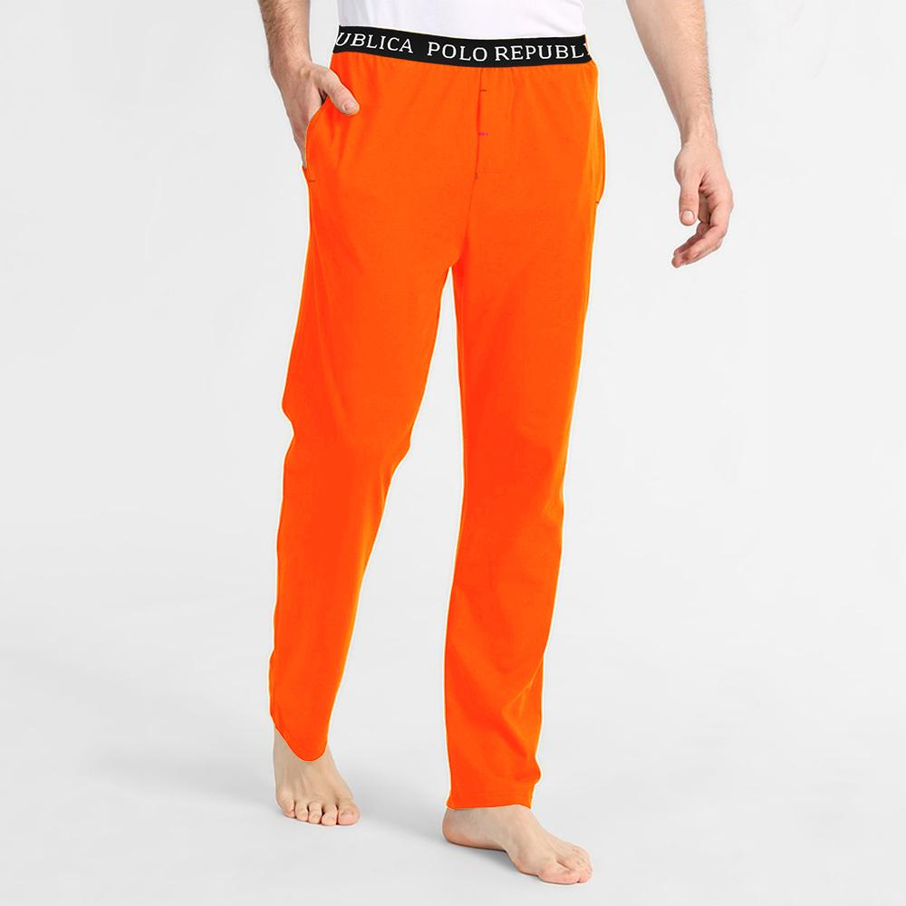 Polo Republica Men's Vodice Casual Pique Trouser Men's Trousers Polo Republica Orange S