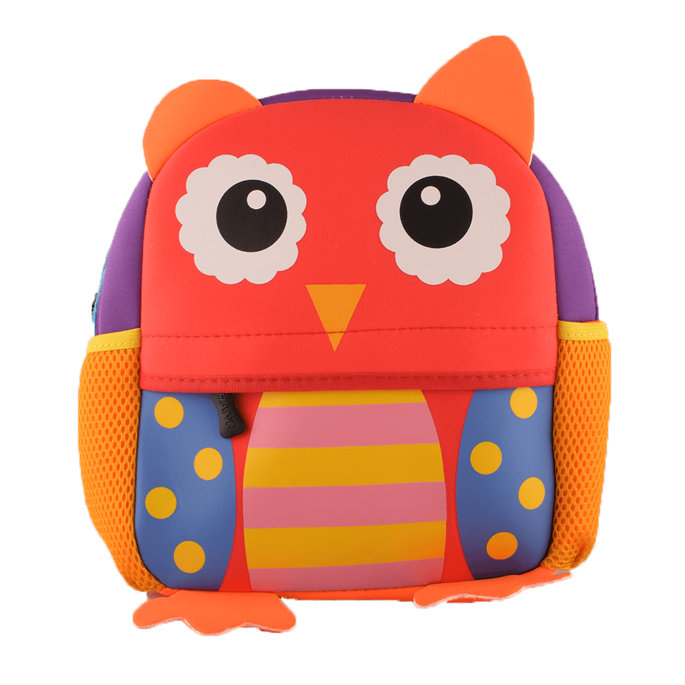 Kid's Animal Design Sturdy School Bags School Bag Sunshine China Owl