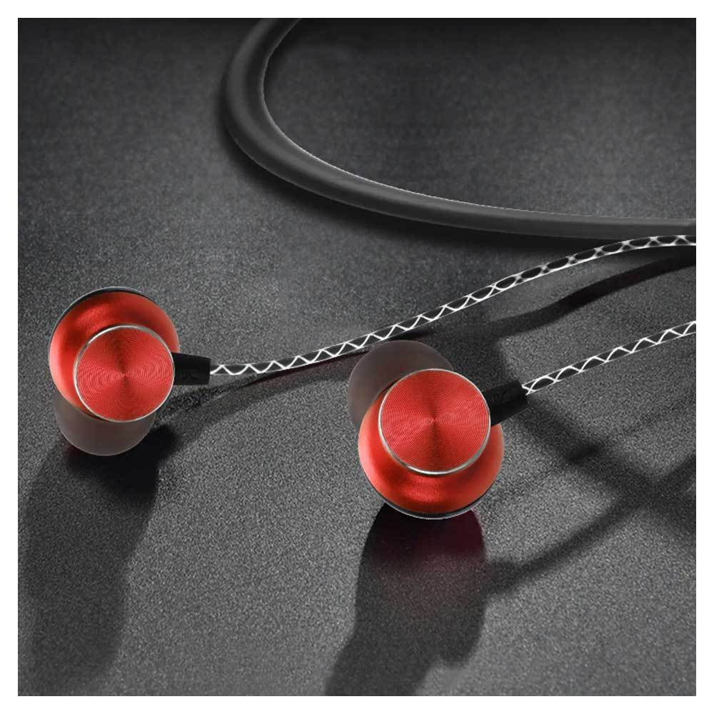 Magnetic Wireless Stereo Bluetooth Earphones Mobile Accessories ALLADIN MERCHANTS Red