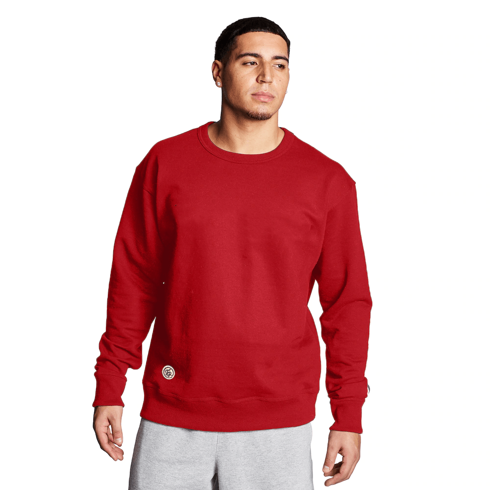 FR Cut Label Men's Placid Fleece Sweat Shirt Men's Sweat Shirt Fiza Red S