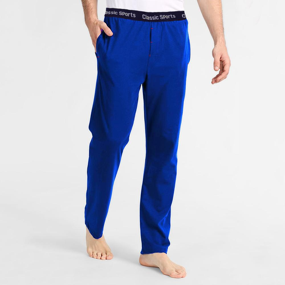Polo Republica Men's 19-31A20 Pique Casual Lounge Pants Men's Sleep Wear Polo Republica Classic Sports Royal S