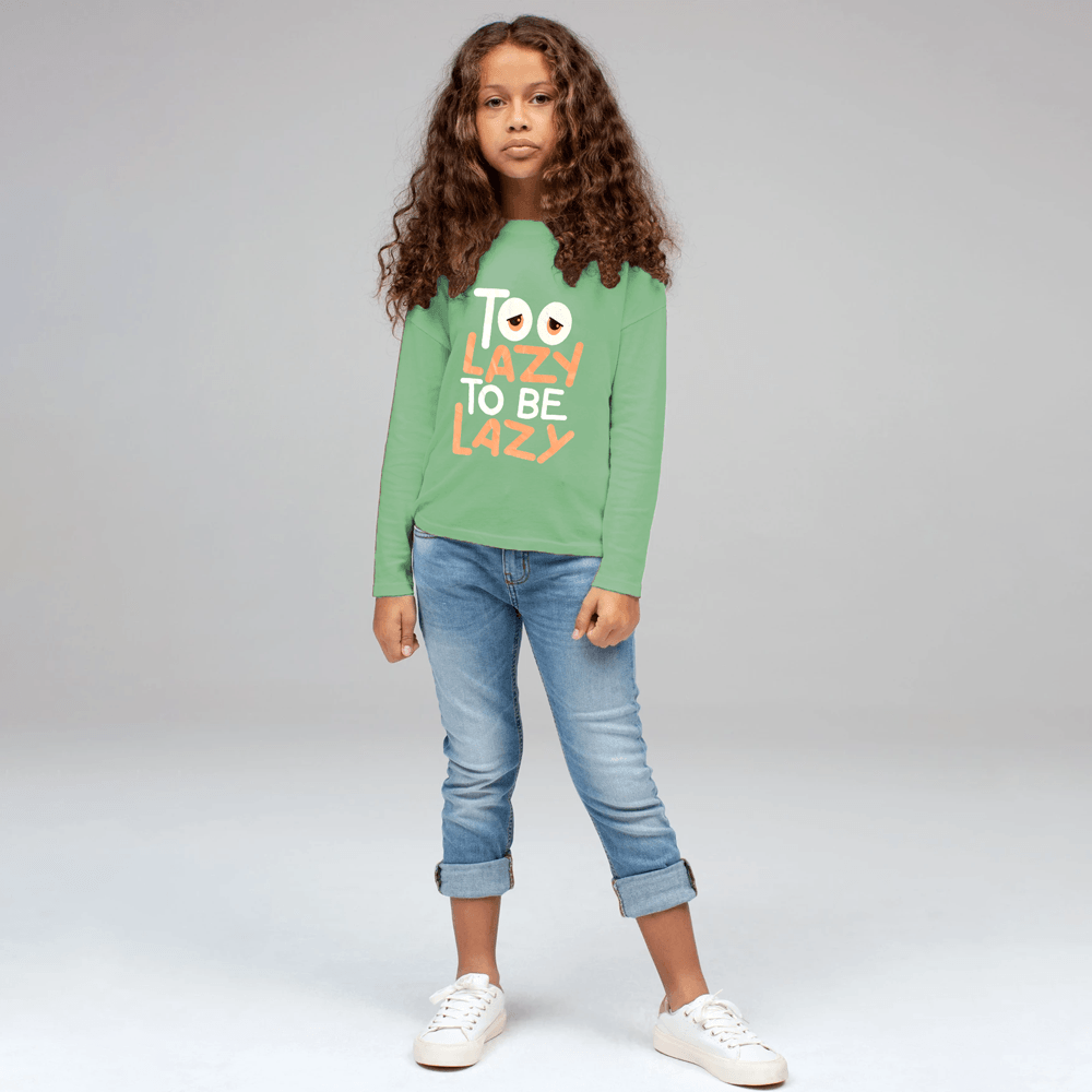 Poler Kid's Too Lazy To Be Lazy Long Sleeve Tee Shirt