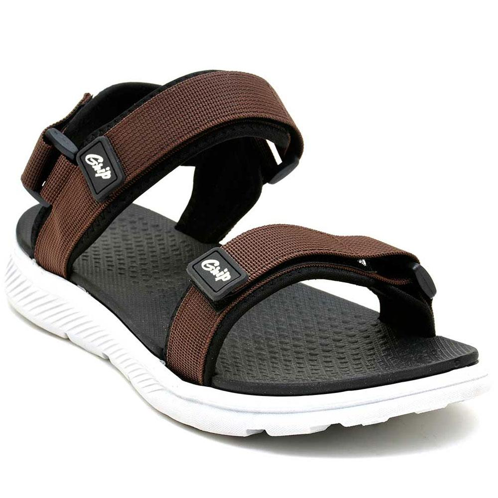 Starlet Men's Grip GRP-101 Sandals Men's Shoes Starlet Shoes Brown EUR 40