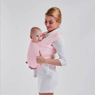 Infants Super Soft Baby Wrap Carrier Women's Accessories Sunshine China Pink