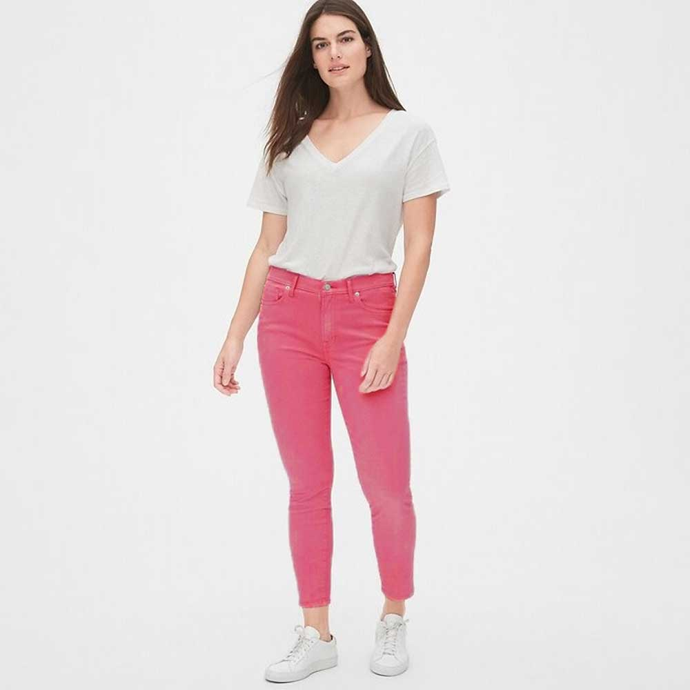GAP Women's Joffrey Slim Fit Denim Women's Denim SNR Pink 24 26