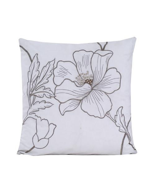 KHAS Pieridae Pack of 2 Mangnolia Cushion Cover - ExportLeftovers.com