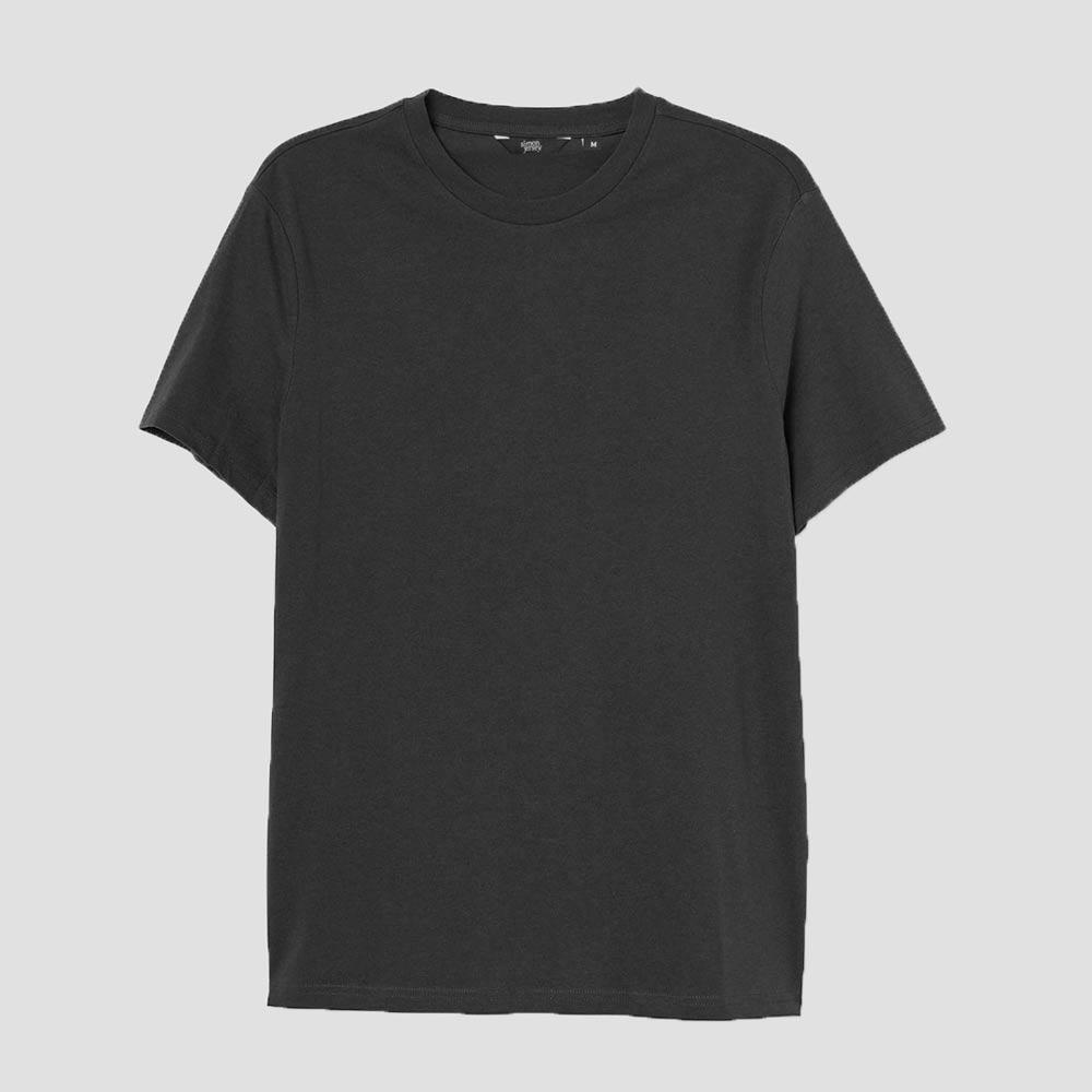 SJ Men's Lavish Crew Neck Tee Shirt Men's Tee Shirt Image Black 3XL