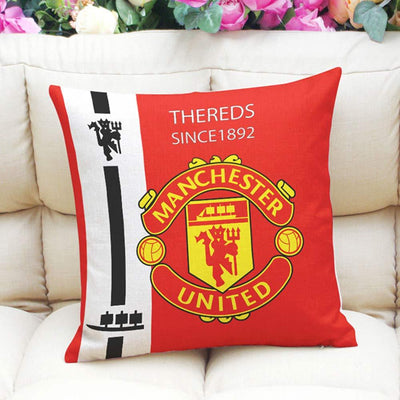 Football Club Composite Linen Cushion Cover Cushion Cover Sunshine China Manchester United