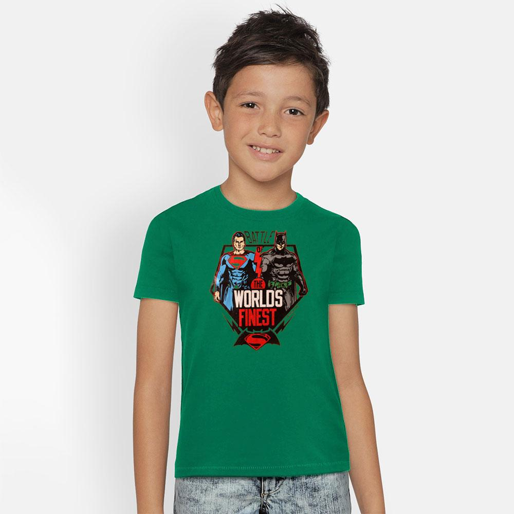Kid's Classy Printed Tee Shirt Battle Heroes Boy's Tee Shirt SRK Turquoise 9-12 Months