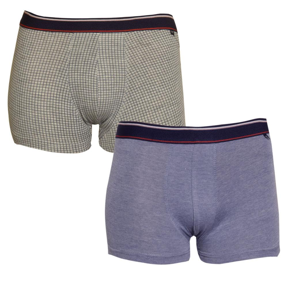 GT Sports Pack Of Two Assorted Boxer Shorts Men's Underwear NMA S