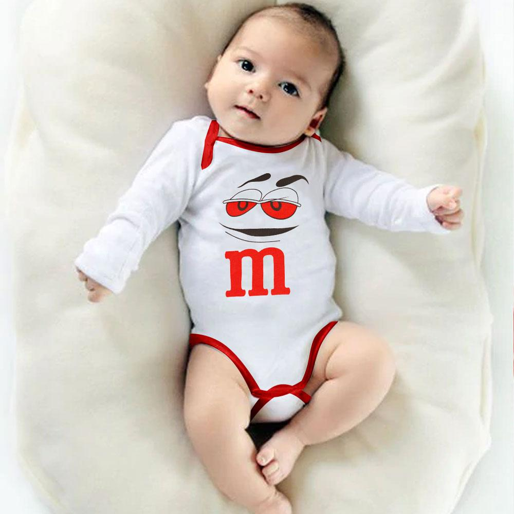 Polo Republica Escobar Long Sleeve Cullman Baby Romper Romper Polo Republica White 0-3 Months