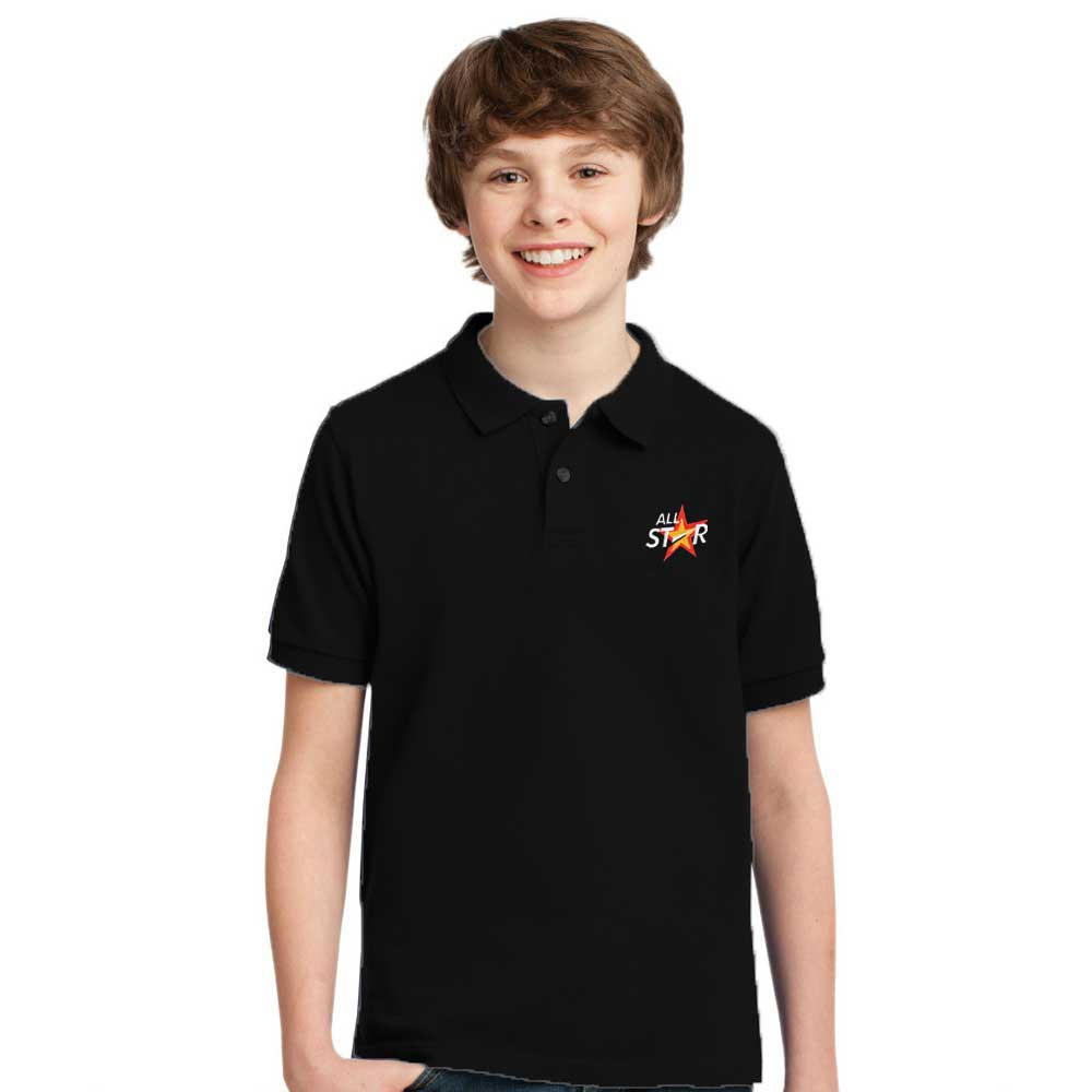 Polo Republica Boy's Burgh Polo Shirt Boy's Polo Shirt Image Black 0