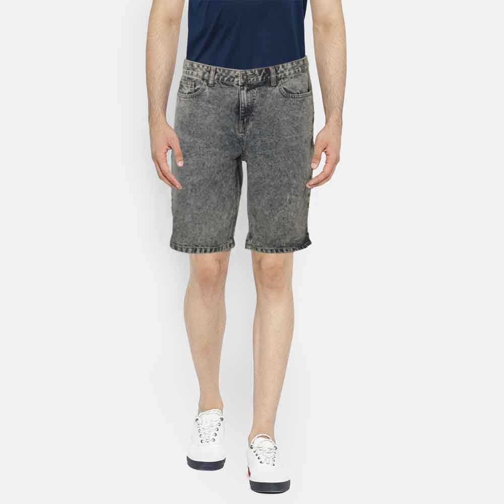 COS Men's Caxias Stone Wash Denim Shorts Men's Shorts SRK Blue 28 20