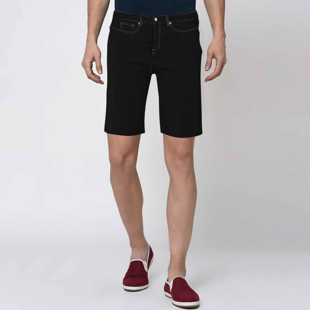 DNM & Co Men's Taubate Denim Shorts Men's Shoes SRK Black 26 17