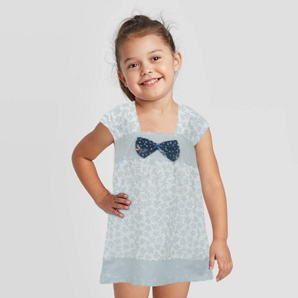 Safina Kid's Priscilla Bow Tie Frock Girl's Frock Bohotique 2-3 Years